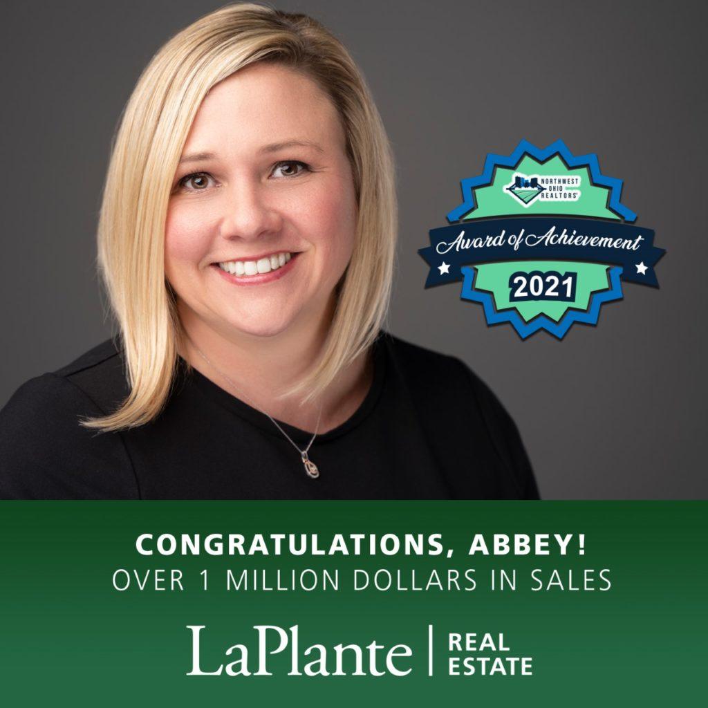 Abbey's Sales Award image