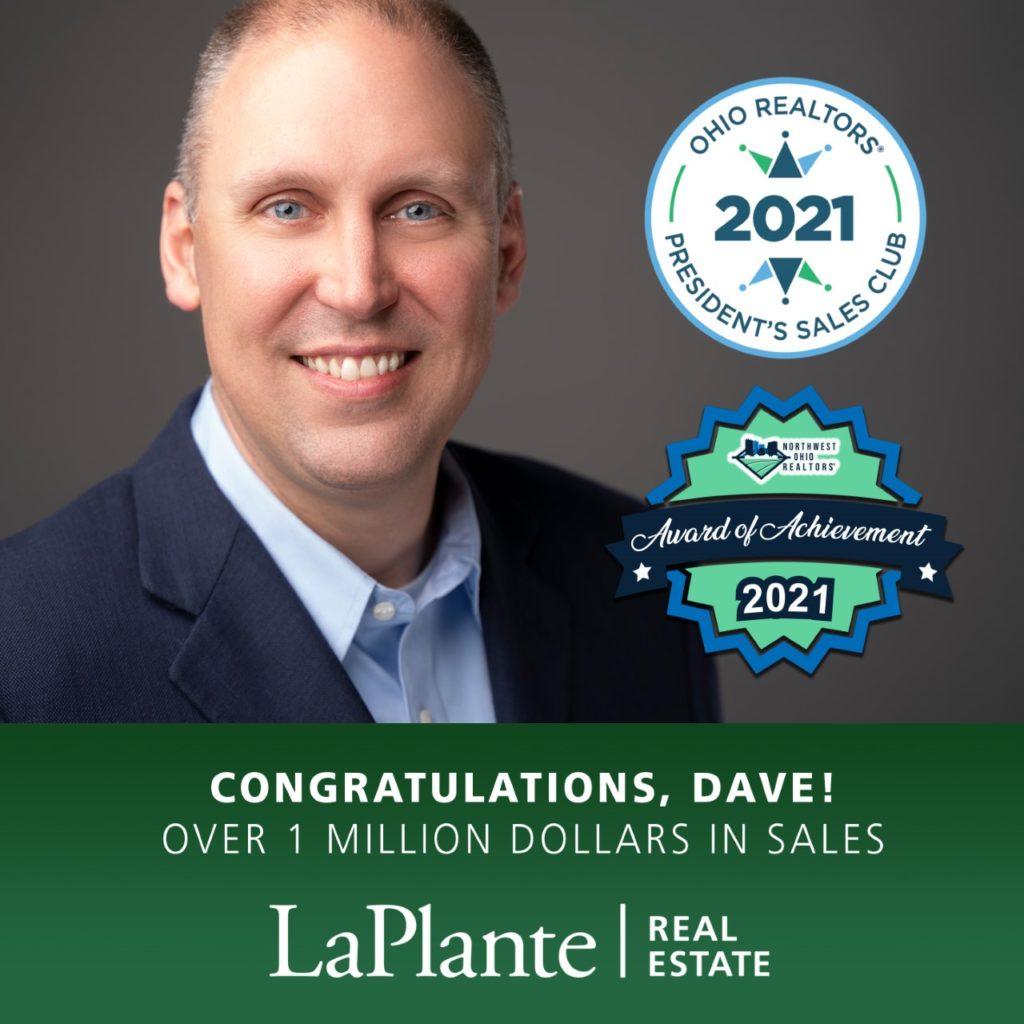 Dave's Sales Award image