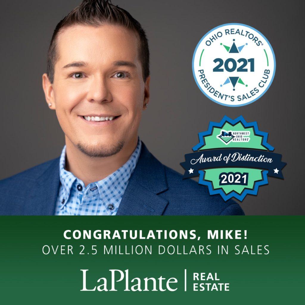 Mike's Sales Award image